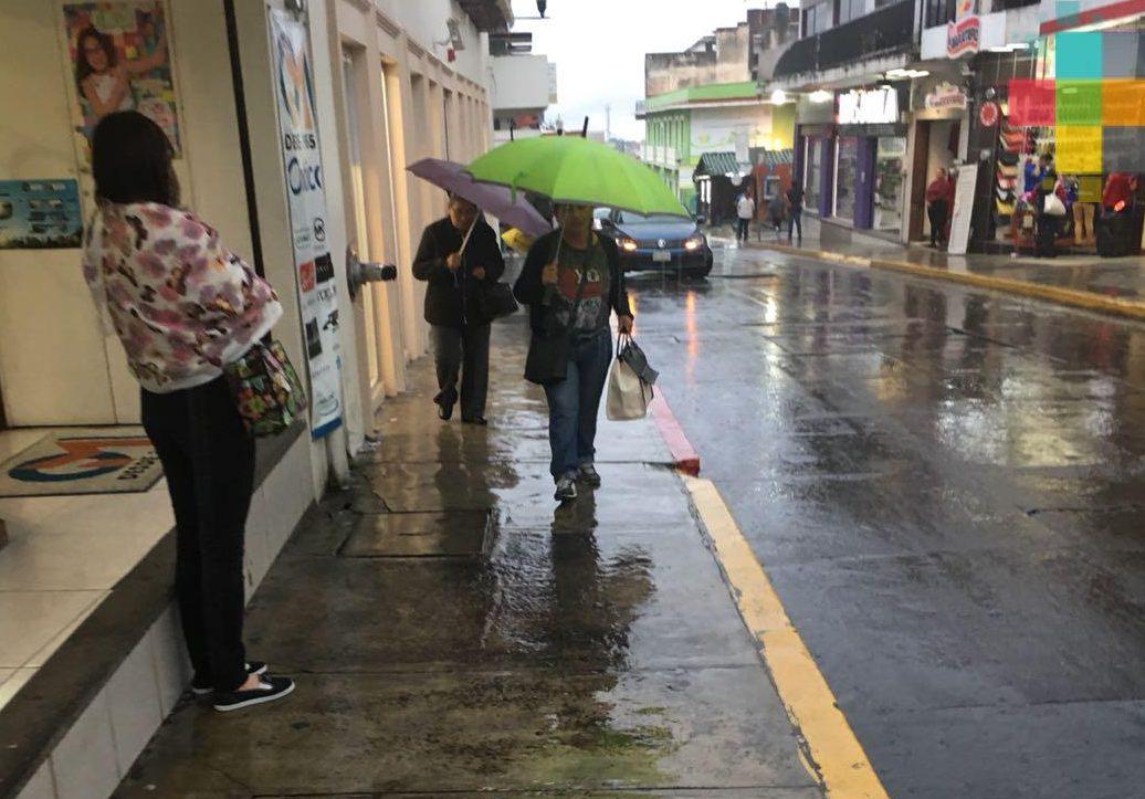 SPC emite Aviso Especial por temporal lluvioso en la entidad veracruzana