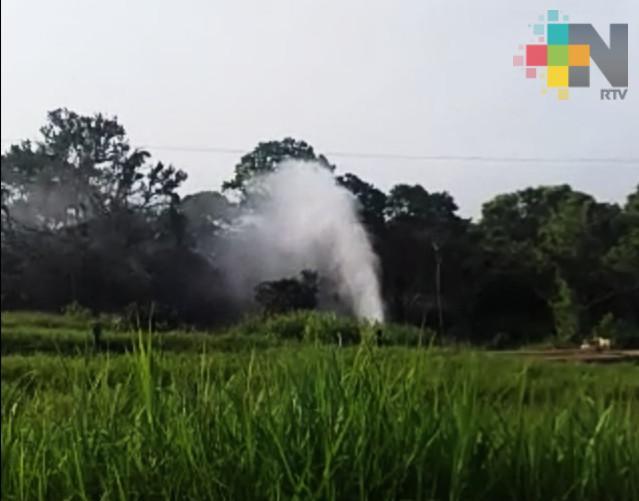 Se registró derrame de combustible en Texistepec