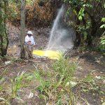 Atienden fuga de hidrocarburo provocada por toma clandestina en poliducto Minatitlán-Salina Cruz
