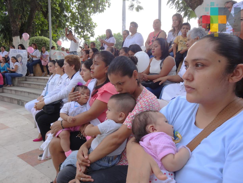 Fomentan lactancia materna en Tantoyuca