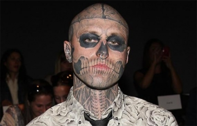 Muere el artista y modelo Zombie Boy, a los 32 años
