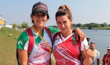 Selección Mexicana Femenil de Canotaje viajó a Portugal a campeonato del mundo