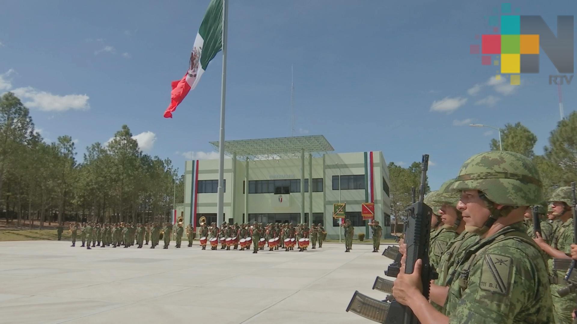Realizan ampliación de espacios del 111 Batallón de Infantería
