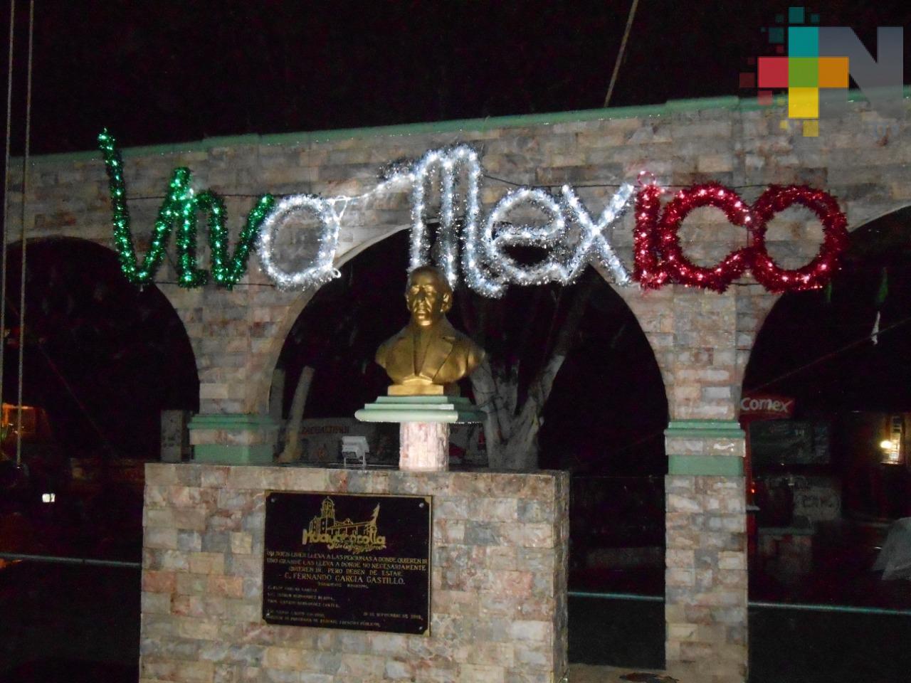 Municipios de la sierra de Huayacocotla preparan festejos patrios