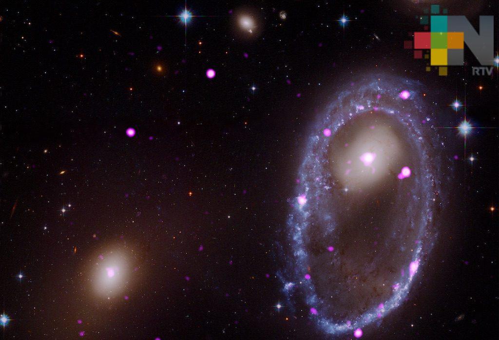 Astrónomos descubren anillo de agujeros negros