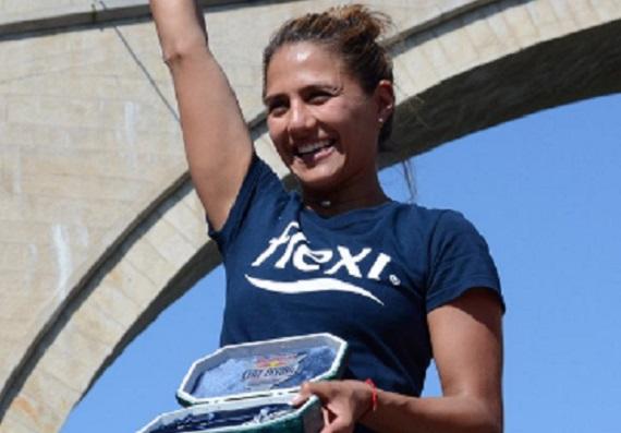 Clavadista mexicana Adriana Jiménez gana Serie Mundial 2018 en Bosnia