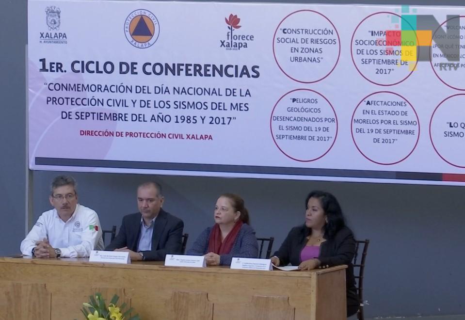 Primera jornada de conmemoración del Día Nacional de la Protección Civil