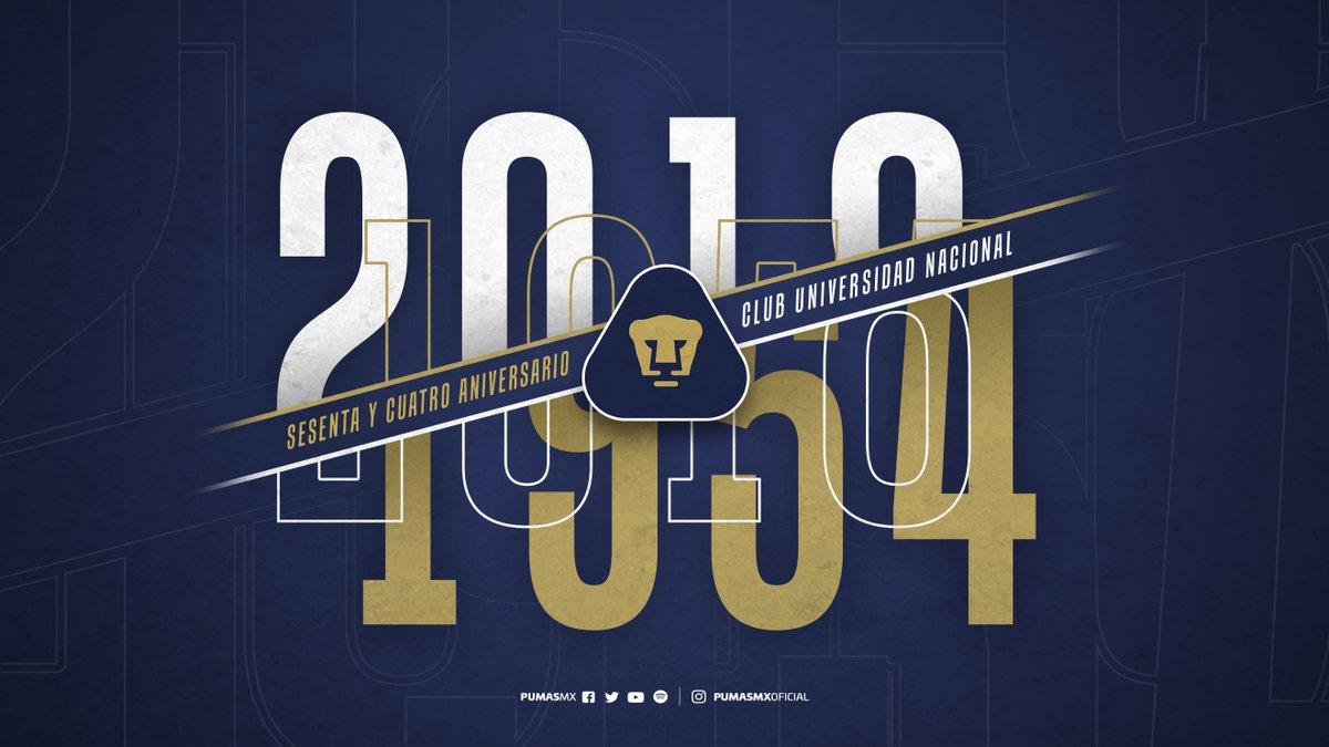 Pumas celebra 64 años de su primer partido a nivel profesional