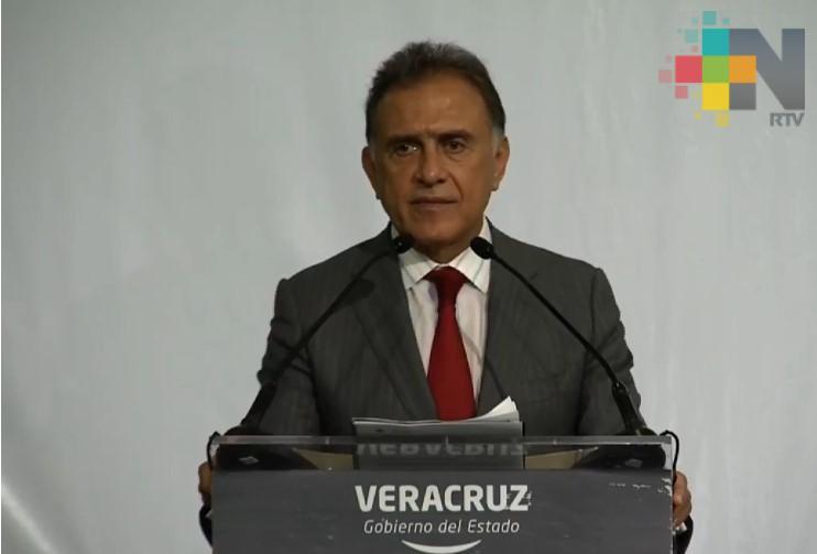 Anuncia gobernador de Veracruz apertura de Centro Integral de Justicia para las Mujeres