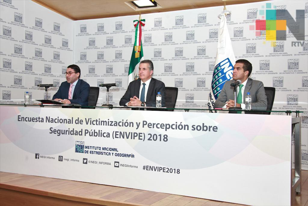 Veracruz, el estado donde menos delitos se cometieron en 2017: INEGI