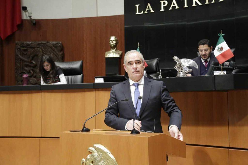 """Propone senador Rementería reforma para erradicar """"simulación de reintegración de recursos"""" en estados"""