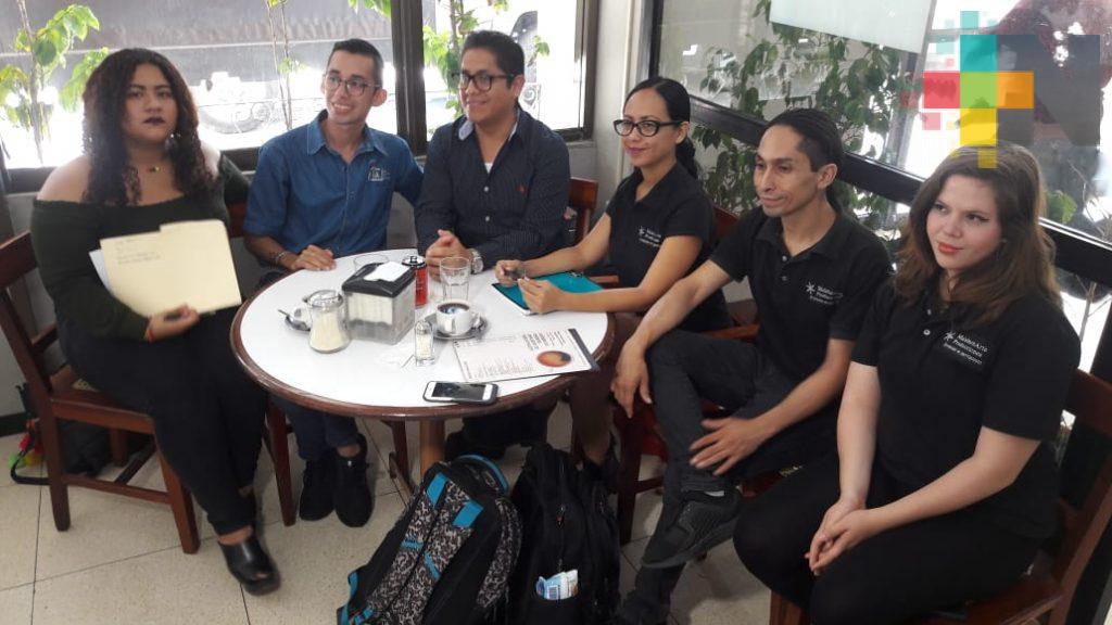 Jóvenes veracruzanos piden apoyo para asistir a encuentro cultural en Cuba