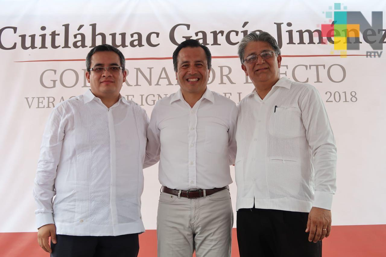 Designa Cuitláhuac García a los titulares de Sedarpa y Sedesol
