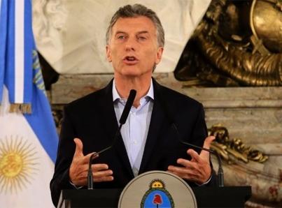 Realizan paro nacional en Argentina mientras Macri está en EUA