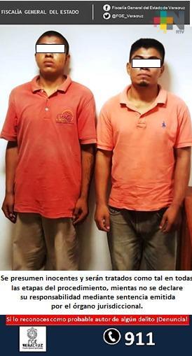 En Papantla, legalizan detención de dos probables violadores