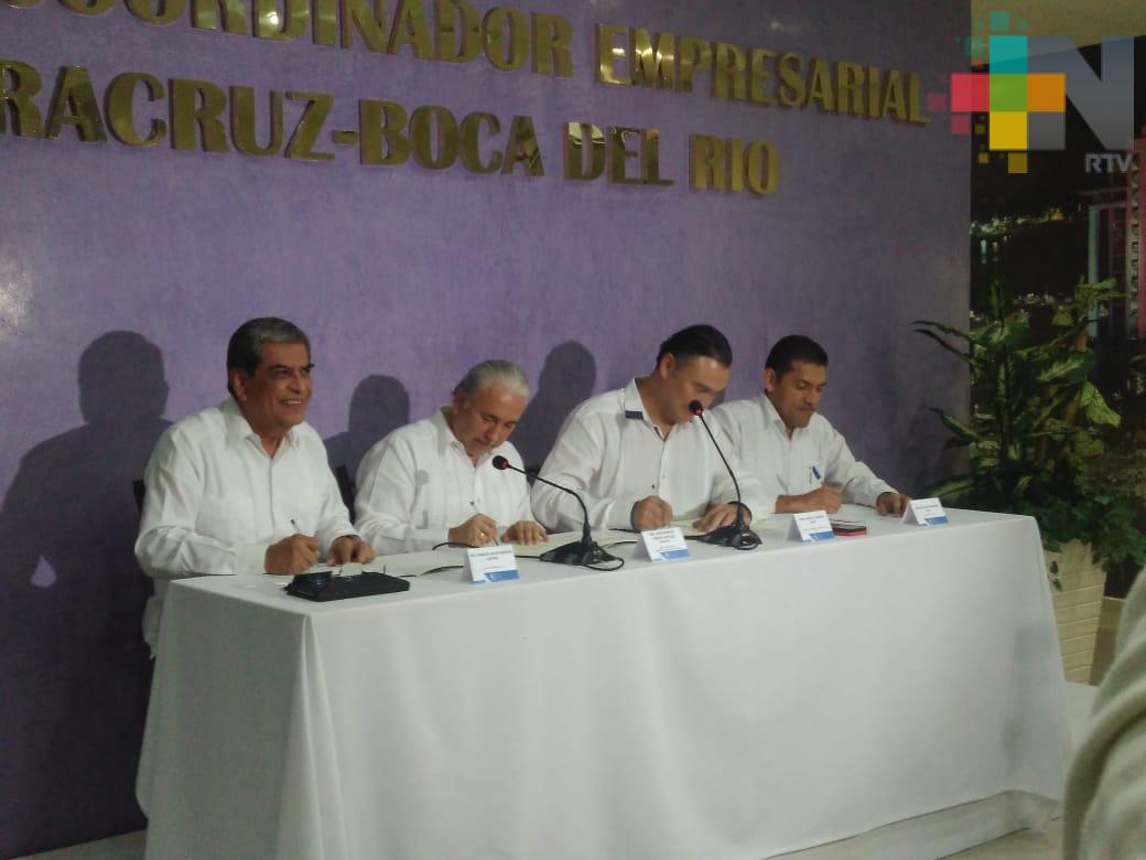AILA y CCE de Veracruz firman convenio para impulsar el comercio exterior mexicano