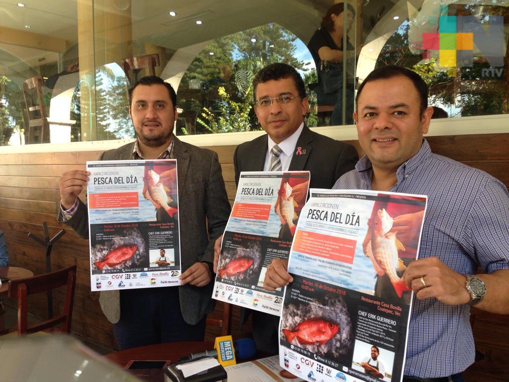 """Programa """"Pesca del día"""" busca incluir producto regional en restaurantes de Xalapa"""