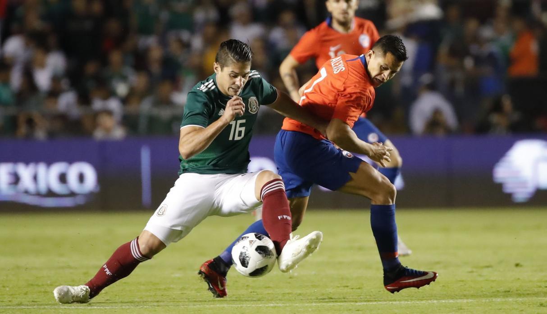 Selección mexicana de fútbol cae 0-1 ante Chile en partido amistoso