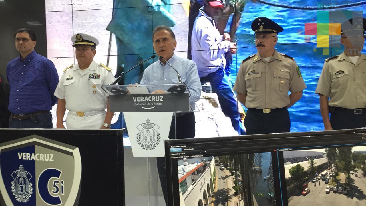 "Operativo ""Montaña"" logra disminuir delitos de alta impacto en Veracruz: Gobernador Yunes"