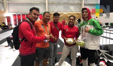 Natalia Botello sube al pódium en Olímpicos de la Juventud