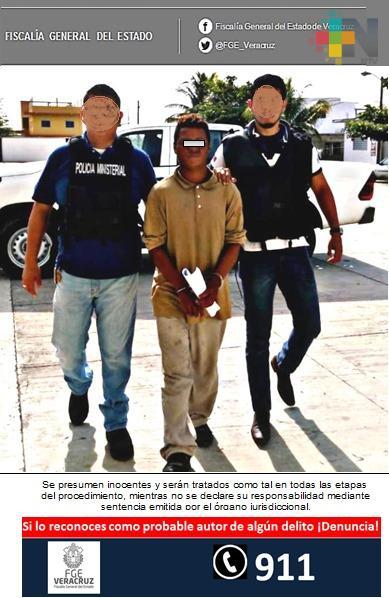 Procede FGE contra imputado por robo agravado, en Cosamaloapan