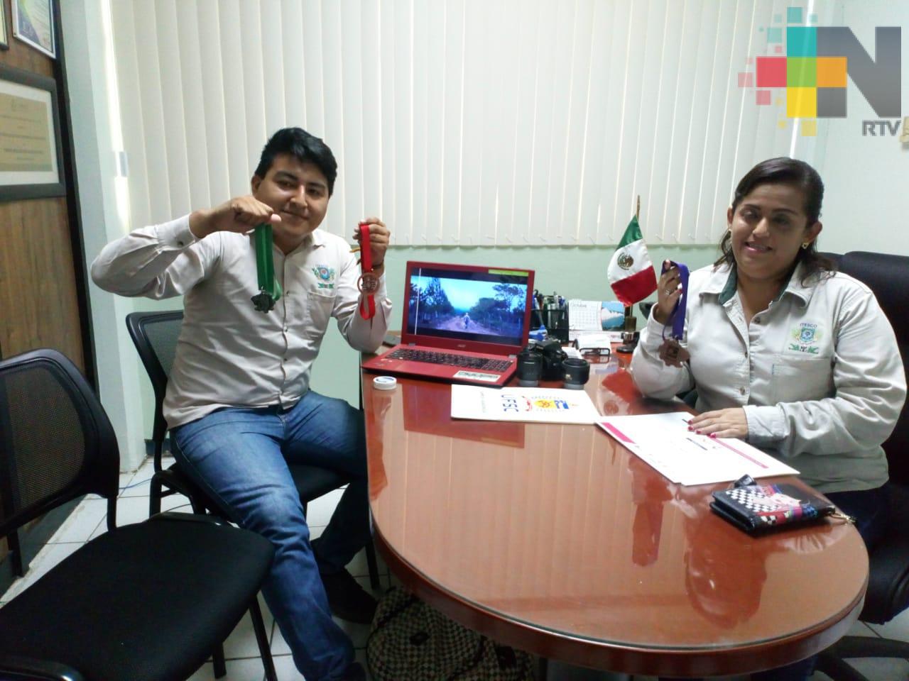 Estudiantes del Itesco obtienen tercer lugar en concurso de cortometraje, en Brasil