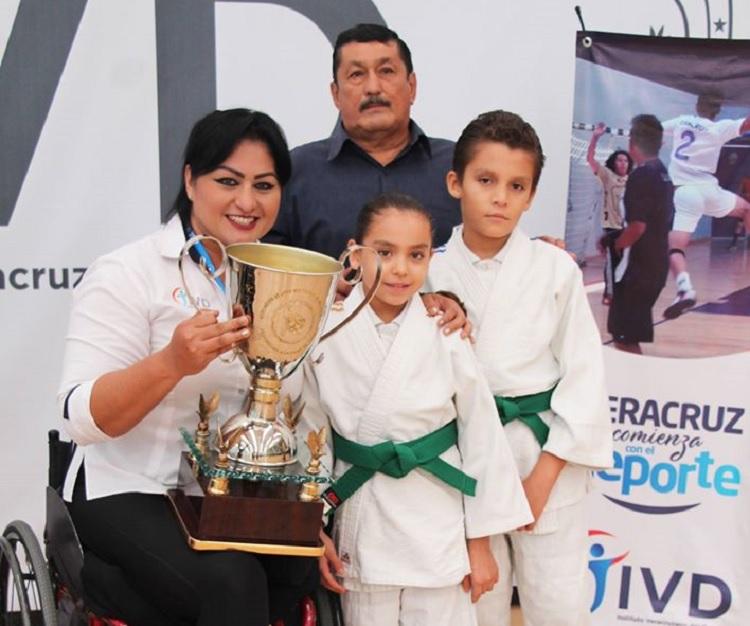 Judo veracruzano obtiene 20 medallas en la Copa Toluca
