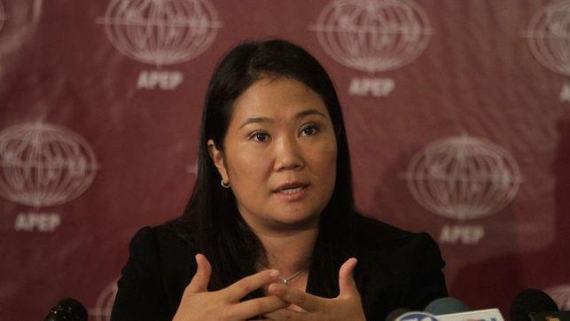Keiko Fujimori detenida en Lima por lavado de dinero