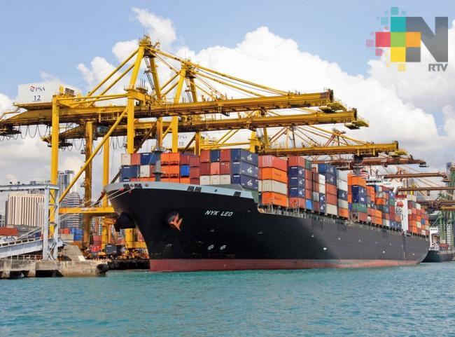 El puerto de Veracruz cerrará con más de 29 millones de toneladas de manejo de carga