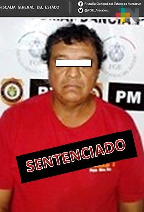 Obtiene Fiscalía Especializada sentencia de 30 años de prisión contra pederasta, en Poza Rica