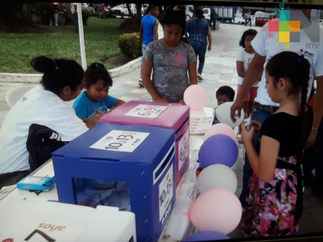 En Veracruz prácticamente todo está listo para la Consulta Infantil y Juvenil 2018