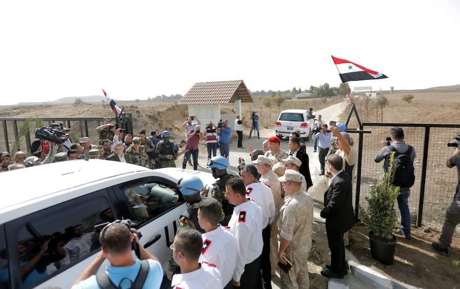 Reabren cruces fronterizos entre Siria y el Golán después de cinco años