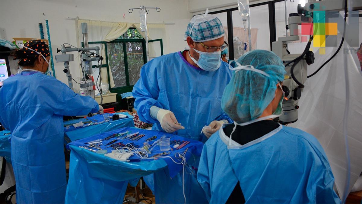 Finaliza campaña de cirugías oftalmológicas gratuitas del CEI y DIF
