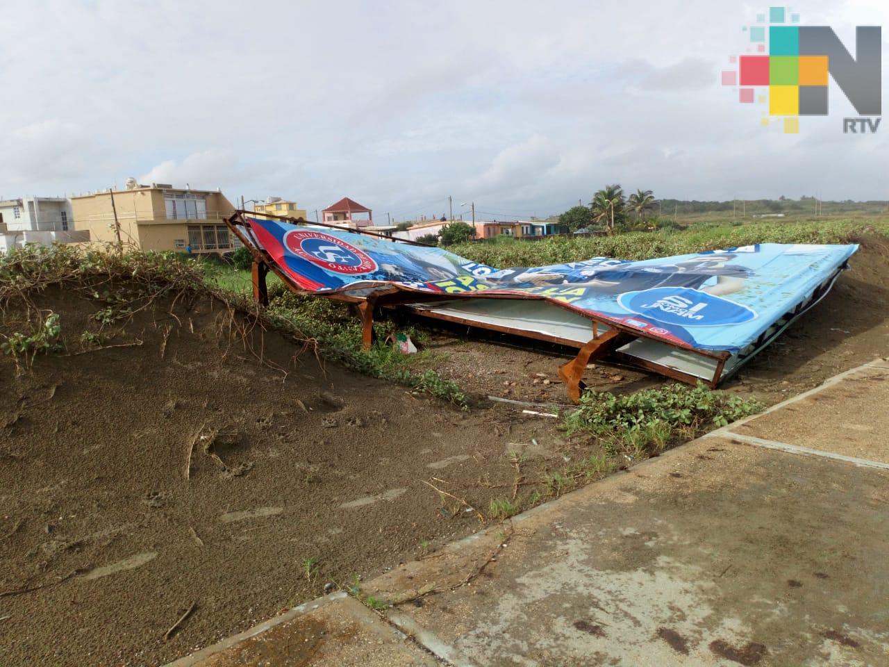 Se presenta otro tornado en Coatzacoalcos; causa afectaciones menores