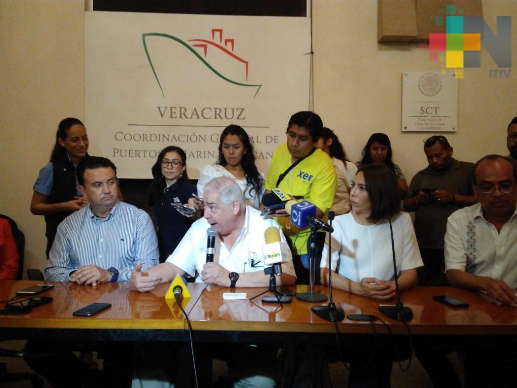 Empresarios de Querétaro, con interés en invertir en el nuevo puerto de Veracruz
