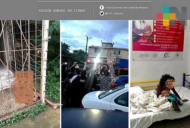 Atienden FGE y autoridades asistenciales a mujer en Minatitlán