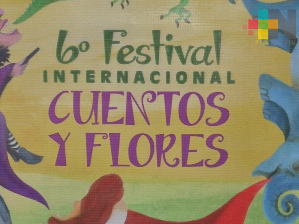 Inició la sexta versión del Festival Internacional Cuentos y Flores