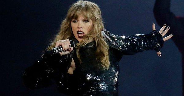 Taylor Swift hace historia como máxima mujer ganadora del AMA
