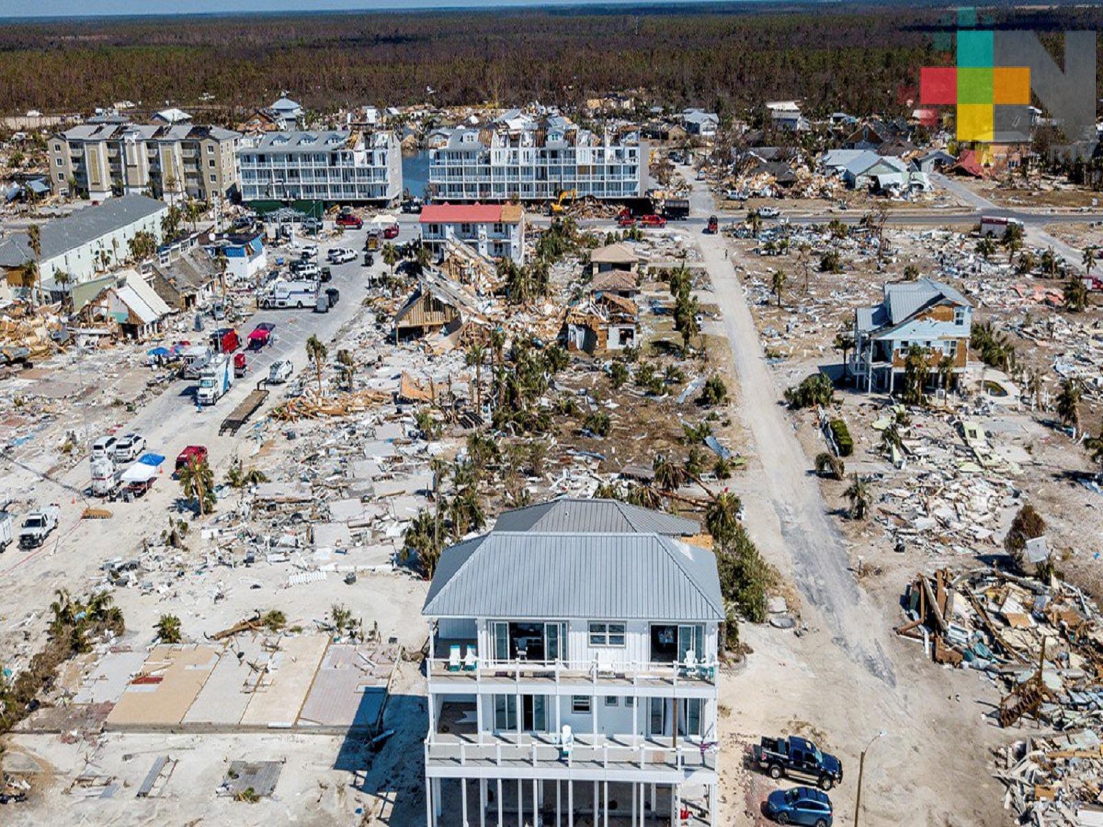 Reportan mil 300 desaparecidos por huracán Michael
