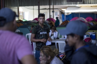 CNDH vigilará que no se violenten garantías individuales de caravana migrante