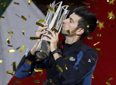 Novak Djokovic se proclama campeón del Master 1000 de Shanghái