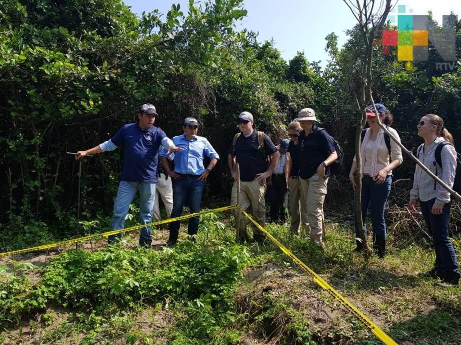 Coadyuva FBI con FGE Veracruz en diligencias realizadas en predio La Laguna