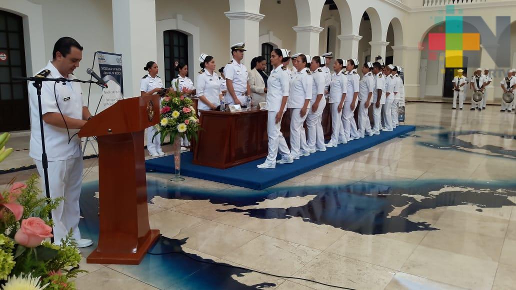 Semar entrega Certificados de Calidad a personal de Enfermería de Hospital Naval de Veracruz