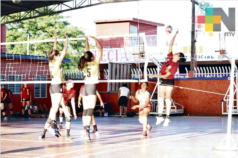 Tierra Blanca fue sede de la segunda etapa estatal de voleibol