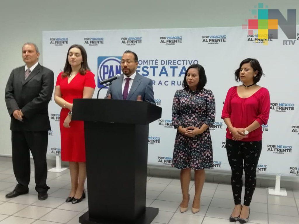 Acción Nacional lamenta la falta de paridad de género en mesa directiva de Congreso del Estado