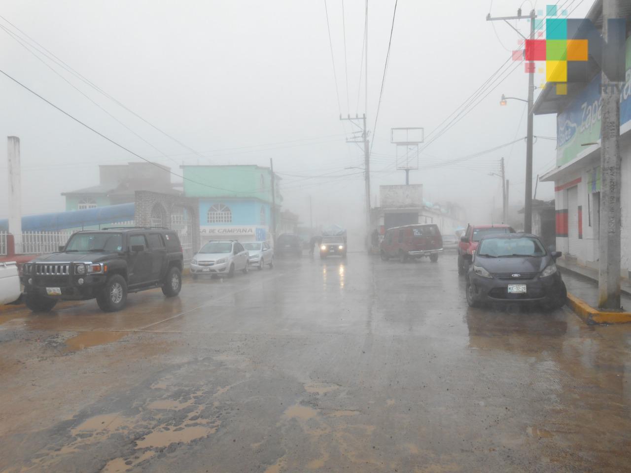 FF 44 mantiene condiciones inestables en gran parte de Veracruz