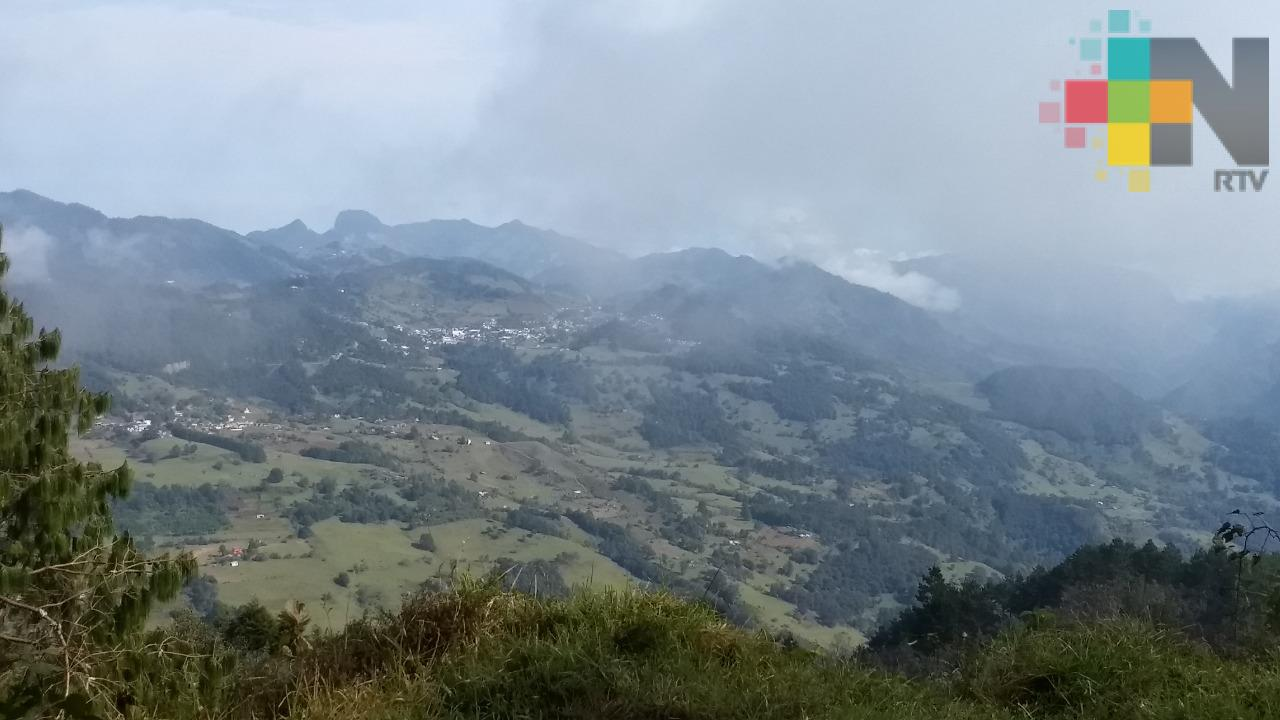 Cielo despejado a medio nublado domina en gran parte de Veracruz