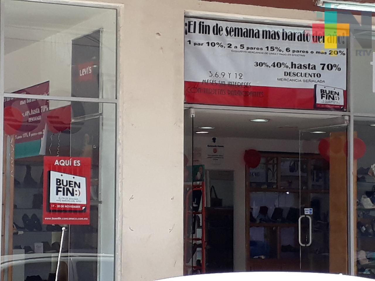 Cerca de 400 empresas tuxpeñas se espera participen en el Buen Fin: Canaco
