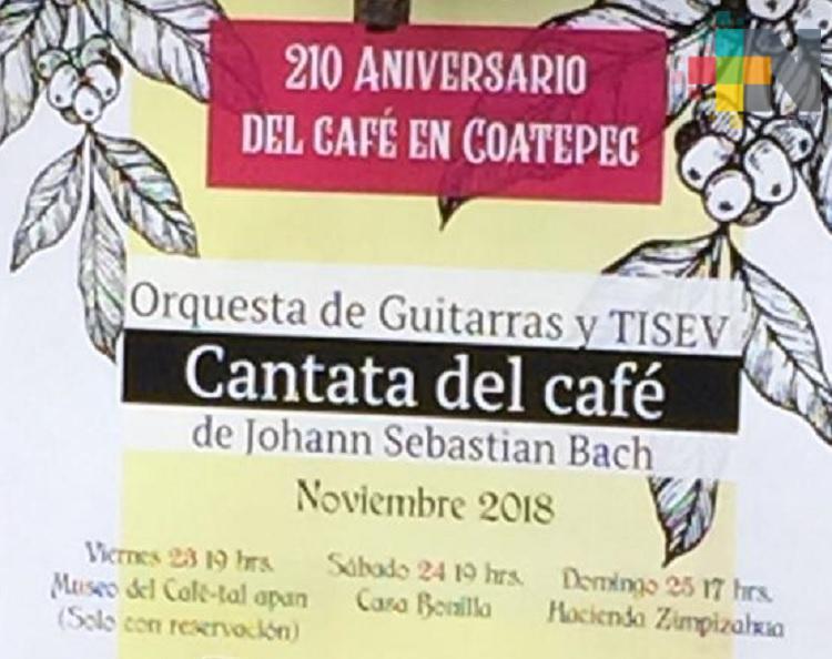 Café de Coatepec cumple 210 años de historia en la región