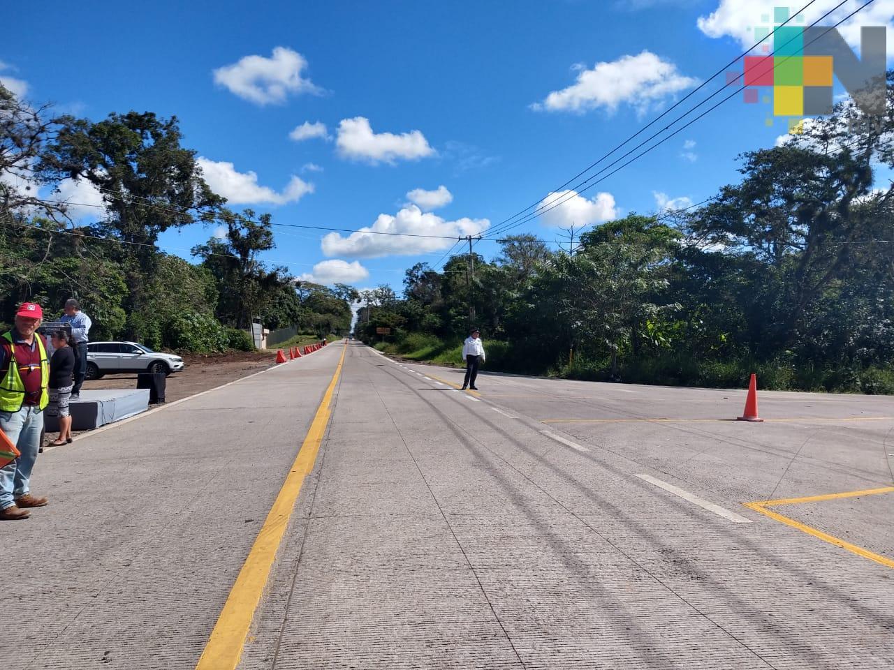 No dejaré obras inconclusas, destaca gobernador Yunes al inaugurar reconstrucción de carretera Las Trancas-La Estanzuela-Totutla